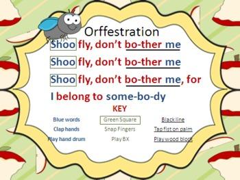 Shoo-Fly Mini Lesson Set