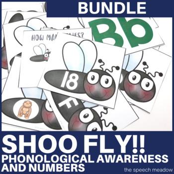 Shoo Fly!!! Phonological Awareness & Numbers Bundle