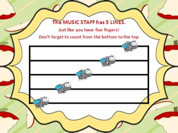 Shoo-Fly Treble Clef Practice PowerPoints