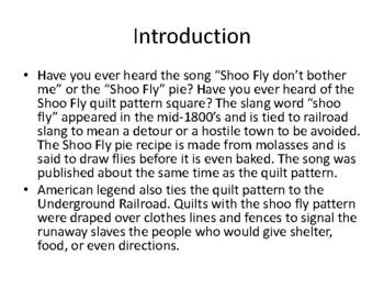 Shoo Fly Art Music and Black history