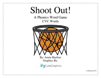 Shoot Out! A Phonics Word Game: CVC Words