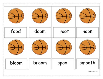 Shoot Out! A Phonics Word Game: Vowel Digraphs