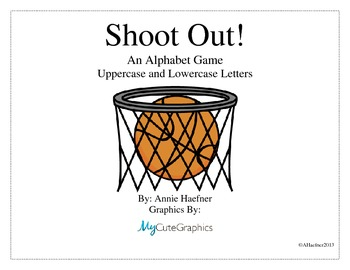 Shoot Out! An Alphabet Game
