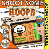 Shoot Some Hoops Boom Cards -  Recorder Bundle (Digital Ta