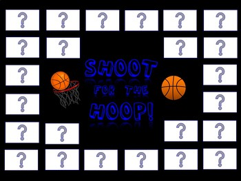 Shoot for the Hoop! Review Game Template