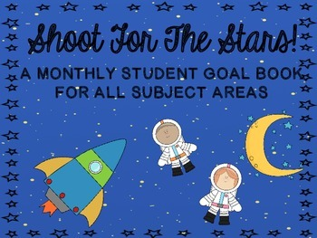 Shoot for the Stars!  A Goal Book & craftivity for Elementary Students!