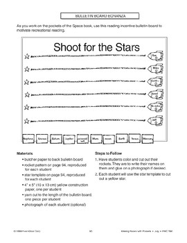 Shoot for the Stars Bulletin Board