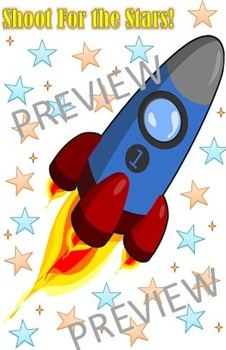 Shoot for the Stars - Rocket Behavior Poster