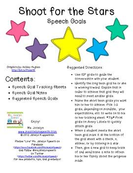 Shoot for the Stars! Speech Goals