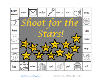"Shoot for the Stars: Vowel sound ""a"" Game"