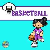 Basketball Ten Frames--Shooting Hoops with Numbers