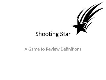 Shooting Star... A game of review