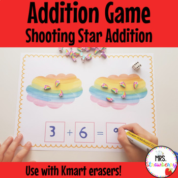 Shooting Star Addition Activity