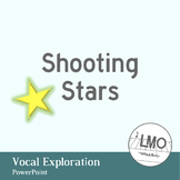 Shooting Star - Vocal Exploration POWERPOINT