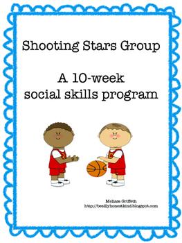 Shooting Stars:  A 10 Week Sports based Social Skills Group