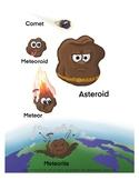 Shooting Stars! Comets, Asteroids, Meteoroids, Meteors, and Meteorites