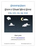 Shooting Stars Short Vowel o Word Sorts -ob, ock, -od, -og, -ond