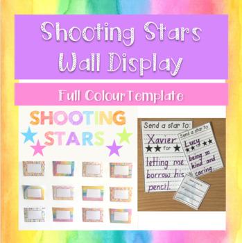 Shooting Stars Wall Pockets - FULL COLOUR