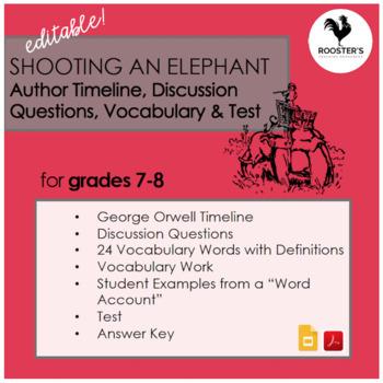 Shooting an Elephant by George Orwell {Digital & PDF}