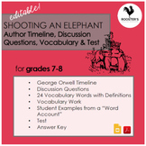 Shooting an Elephant by George Orwell {Digital & PDF}