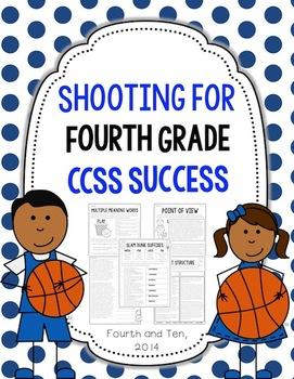 Shooting for Fourth Grade ELA CCSS Success