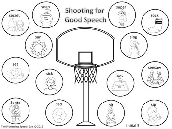 Shooting for Good Speech /S/