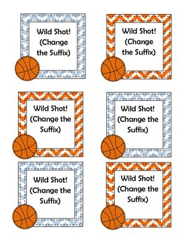 Shooting for Suffixes: An Uno Style Card Game for Middle School