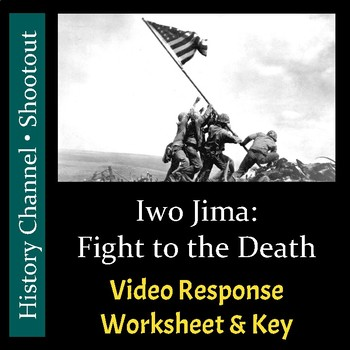 Shootout - Iwo Jima: Fight to the Death - Video Worksheet & Key (Editable)
