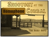 Shootout at the Homophone Corral - Fun Test Prep Review Game