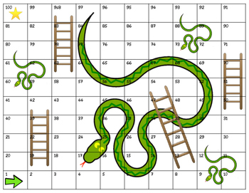 Shoots and Ladders Game Board