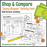 "Shop & Compare - Girl Scout Juniors - ""Savvy Shopper"" Activity Pack (Step 4)"