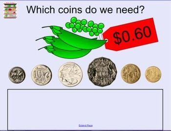 Shop Game (Australian Currency)