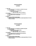 Shop Project Planning Guide for students