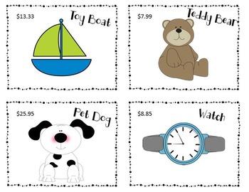 Adding and Subtracting Decimals Game