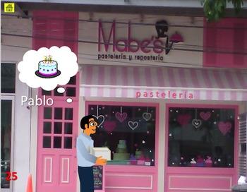 Shop in Mexico, use va/viene/acaba/piensa en/quiere in multiple contexts!, pt 1