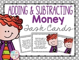 Adding and Subtracting Money Task Cards