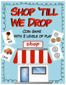 Shop 'till We Drop Coin Counting Game