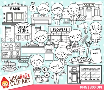 Shopkeepers Clipart