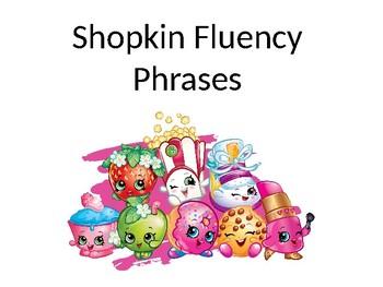Shopkin's Fluency Phrases