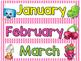 "Shopkins Calendar (17"" X 22"")"