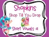 Shopkins- Shop Till You Drop- Short A Word Cards