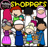 Shoppers  (scribble clips)