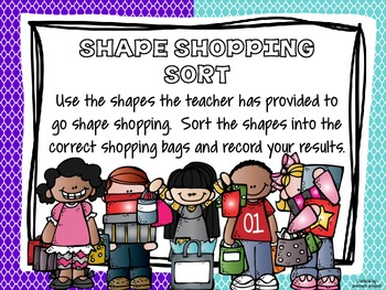 Shoppin' for Shapes