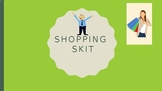 Editable Shopping Skit Project in Chinese