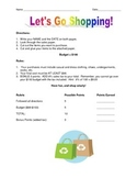 Shopping Activity