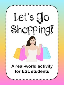 Shopping Activity (ESL)