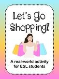 Shopping Activity (ESL)