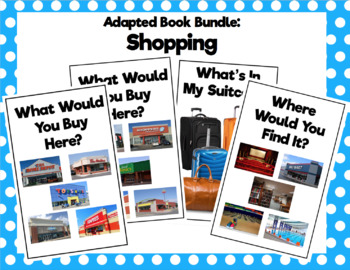 Shopping Adapted Book Bundle