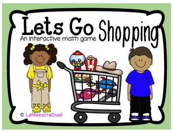 Shopping Addition Math Game