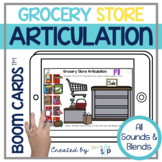 Shopping Articulation Boom Cards™️ for Speech Therapy Groc